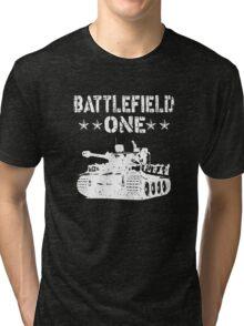 Battlefield one Tanks Tri-blend T-Shirt