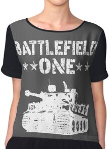 Battlefield one Tanks Chiffon Top