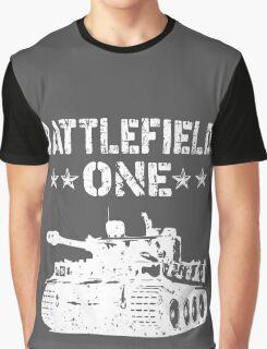 Battlefield one Tanks Graphic T-Shirt