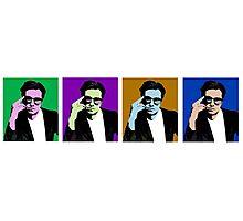 Sebastian Stan: Andy Warhol Photographic Print