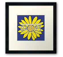 Gilmore Girls - One Thousand Yellow Daisies Framed Print