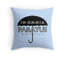 Gilmore Girls - In Omnia Paratus Throw Pillow