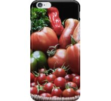 TODAY'S HARVEST! iPhone Case/Skin