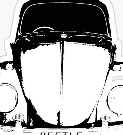 VW Beetle - Black Sticker