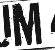 Sum41 Painted Logo Black Sticker