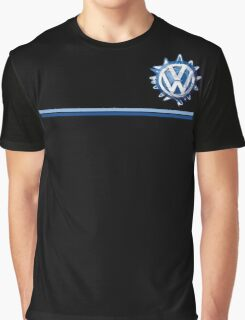 VW Classic Swirl and lines  Graphic T-Shirt