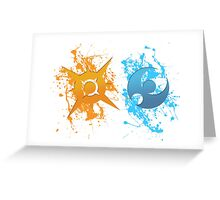 Gen 7. Paint Icons Greeting Card