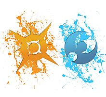 Gen 7. Paint Icons Photographic Print