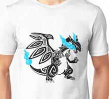 Tribal Dragon - Black Unisex T-Shirt