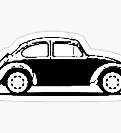 VW 1961 Beetle - Black Sticker