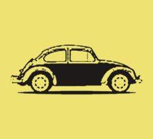 VW 1961 Beetle - Black Baby Tee