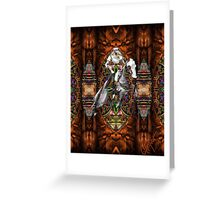 Ghost Knight Greeting Card