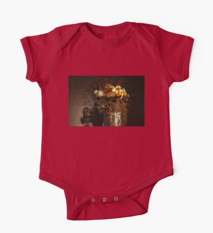 Mother Nature's Autumn Colors - a Still Life One Piece - Short Sleeve