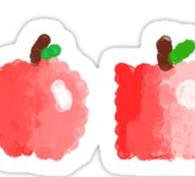 apples to apples  Sticker