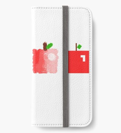 apples to apples  iPhone Wallet/Case/Skin