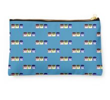 VW Kombi - Red Yellow Blue Studio Pouch