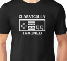 CLASSICALLY TRAINED CONTROLLER LOGO Unisex T-Shirt