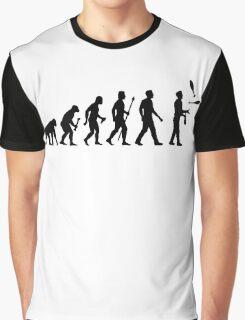 Funny Juggling Evolution Shirt Graphic T-Shirt