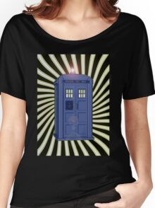 TARDIS CLASSIC VORTEX 1 Women's Relaxed Fit T-Shirt