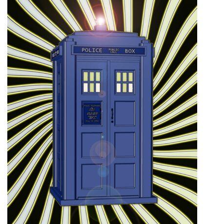 TARDIS CLASSIC VORTEX 1 Sticker