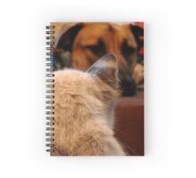 Iz keepin my eyes on youz, Buster Spiral Notebook
