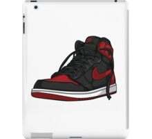 "Air Jordan 1 ""BRED"" iPad Case/Skin"
