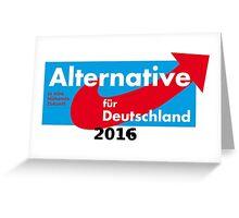 Alternative Für Deutschland Greeting Card