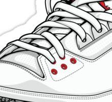 "Air Jordan 3 (III) ""WHITE & CEMENT"" Sticker"