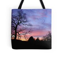 Migration of Canada Geese Tote Bag