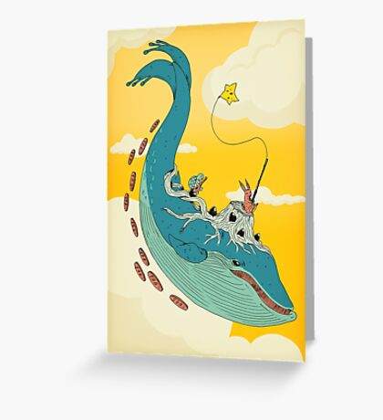 100 leagues Greeting Card