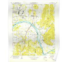 USGS TOPO Map Alabama AL Farley 303817 1950 24000 Poster