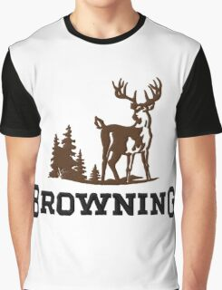 Browning Firearms Logo Graphic T-Shirt