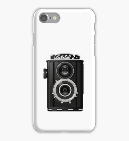 Vintage camera design iPhone Case/Skin