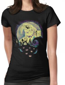 Nightmare Moon Womens Fitted T-Shirt