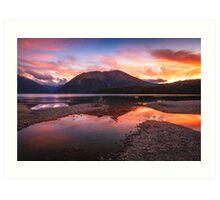 Lake Rotoiti - Nelson Lakes - New Zealand Art Print