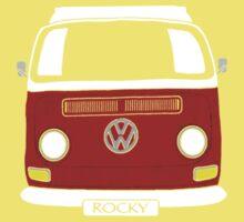 ROCKY the VW Kombi One Piece - Short Sleeve