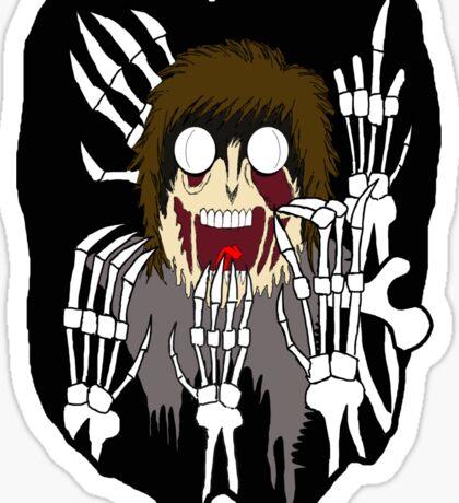 SKELETON DEATH Sticker
