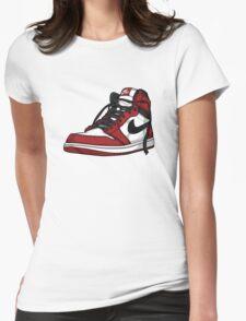 "Air Jordan 1 ""CHICAGO"" Womens Fitted T-Shirt"