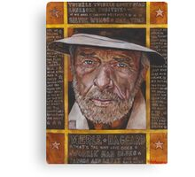 Merle Haggard Canvas Print