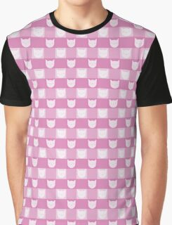 Smitten With Kittens (Pink) Graphic T-Shirt