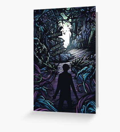A Day to Remember Homesick Album Cover Greeting Card