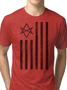 BMTH Flag - Music Band Tri-blend T-Shirt