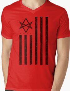 BMTH Flag - Music Band Mens V-Neck T-Shirt