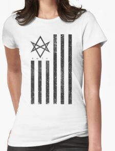 BMTH Flag - Music Band Womens Fitted T-Shirt