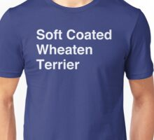 Soft Coated Wheaten Terrier Unisex T-Shirt