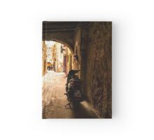 One Very Italian Courtyard Hardcover Journal