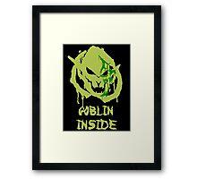 Green Goblins Framed Print