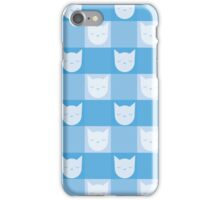 Smitten With Kittens (Blue) iPhone Case/Skin