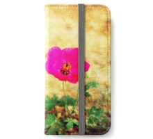 Earth Laughs in Flowers... iPhone Wallet/Case/Skin