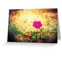 Earth Laughs in Flowers... Greeting Card